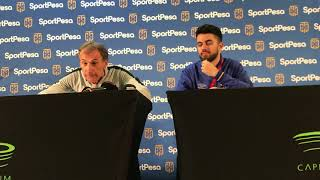 Giovanni Solinas post match press conference