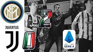 INTER 2-0 JUVENTUS | UMILIATI!! VERGOGNA!!! LIVE REACTION TIFOSI JUVENTINI HD!