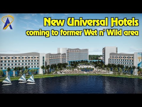 Two new Universal Orlando & Loews hotels coming to former Wet n' Wild site
