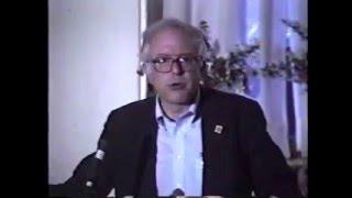 Bernie Sanders Addresses Democratic Socialists of America Conference (1991)