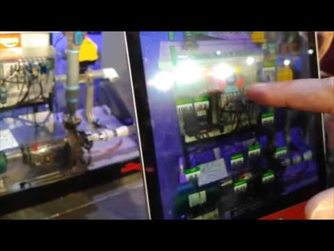 Control Engineering video: Tablet-based augmented reality helps predictive maintenance for pumps