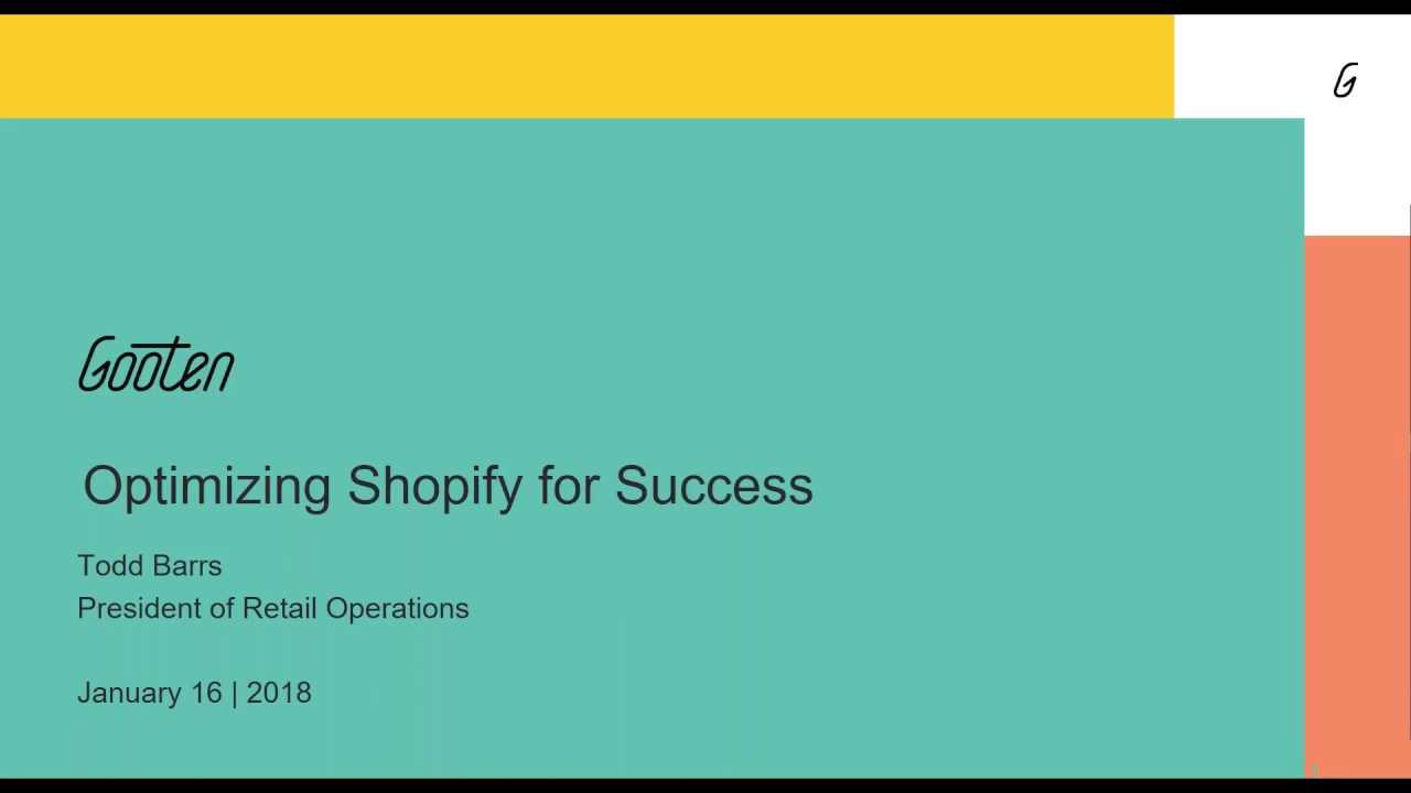 Optimizing Your Shopify Store for Success