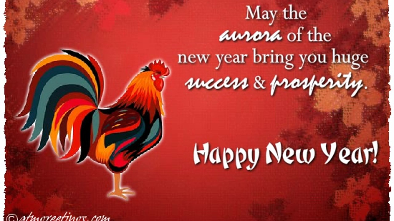 New year 2017 greeting pictures year of rooster happy chinese new year - Chinese New Year 2017 4715 Rooster Wishes Ecard Greeting Card Video 07 10
