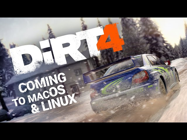 DiRT 4 — Coming to macOS and Linux