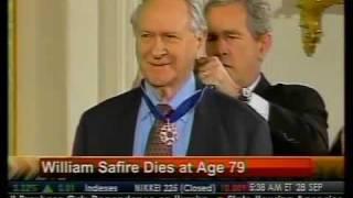 William Safire Dies At Age 79