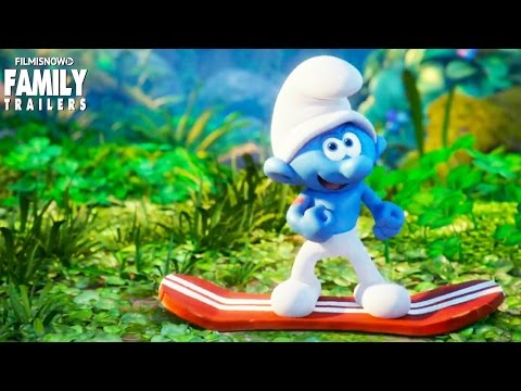 SMURFS: The Lost Village | The Smurfs go 'Smurf Boarding' in a new clip