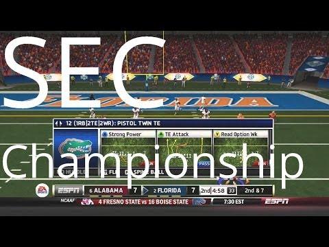 Florida Gators NCAA Football 14 Dynasty - SEC Championship vs. Alabama - Season One