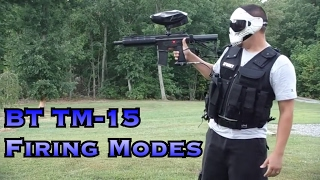 Firing modes on the BT TM-15 marker