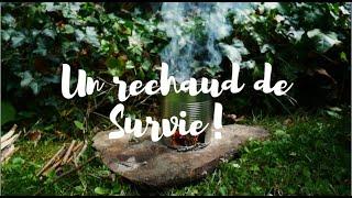 Comment faire un réchaud de survie avec le minimum de matériels !