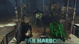 Fallout 4 Far Harbor Защита Поселения, Силовая Броня, Бункер