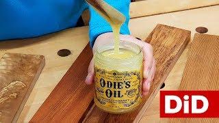 854. Preparaty do drewna: Odie's Oil Universal Finish - uniwersalny olej z woskiem