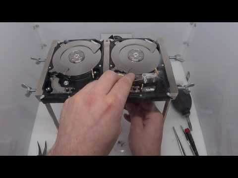 Seagate ST3000DM001 Head Swap - Affordable Clean Room Data Recovery by $300 Data Recovery