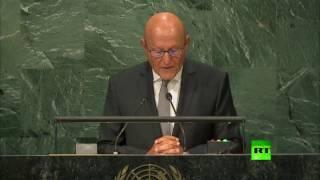 كلمة رئيس الوزراء اللبناني تمام سلام أمام الجمعية العامة