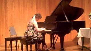 Samantha Steele Chopin Waltz in B minor May 2011.AVI