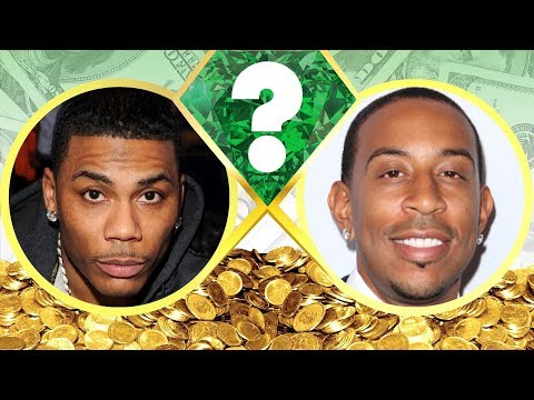WHO'S RICHER? - Nelly or Ludacris? - Net Worth Revealed! (2017)