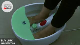 Best Foot Spa Machine How to Use India 2019 Amazon