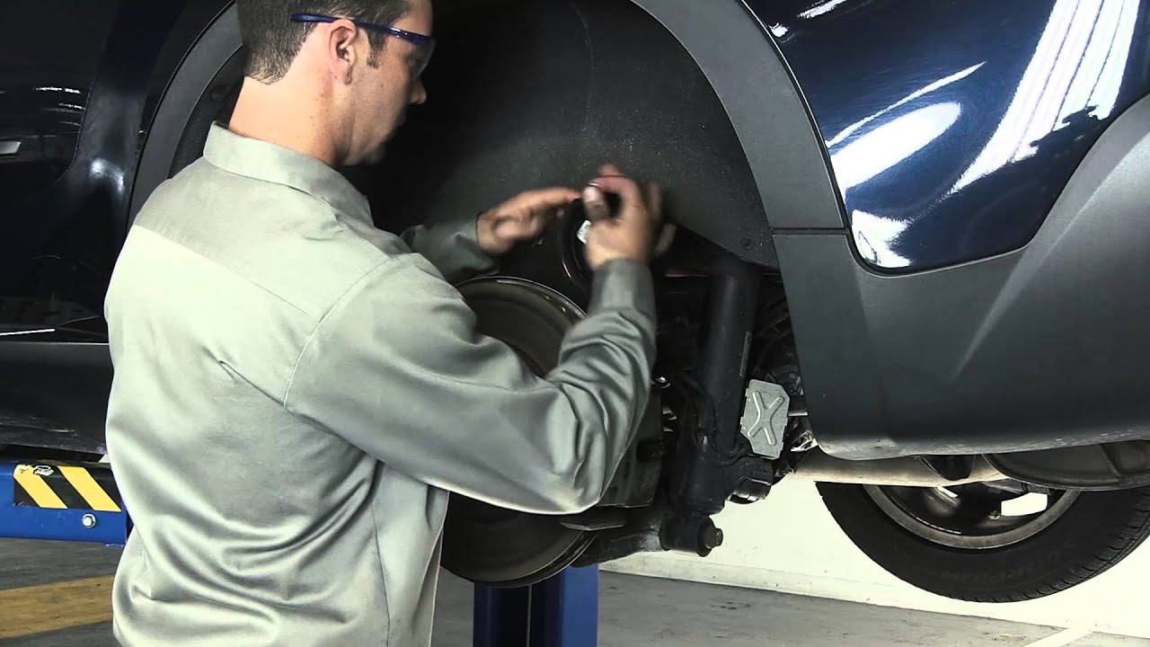 how to replace the rear air suspension spring on a bmw x5 x6 [ 1280 x 720 Pixel ]
