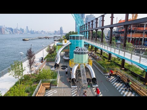 Domino Park - Brooklyn, NY - Visit a Playground - Landscape Structures