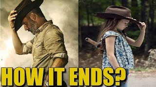 The Walking Dead Series Ending Theory - How Will It End? A & B Mean This?
