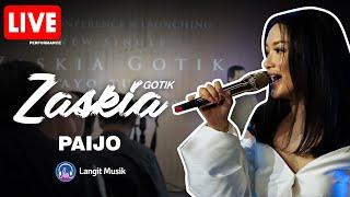 Cover images Zaskia Gotik - Paijo Feat RPH and DJ Donall | Live Let's Talk Music with  Zaskia Gotik | Always HD