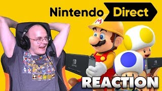 MEW2KING's REACTION TO THE SUPER MARIO MAKER 2 NINTENDO DIRECT [05.15.19]
