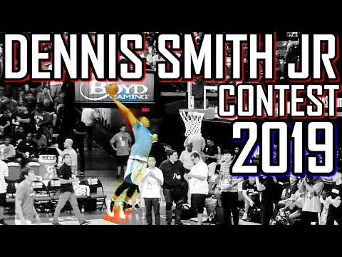 DENNIS SMITH JR DUNK CONTEST 2019 PREVIEW!!!