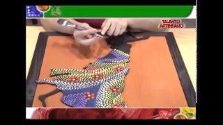PUNTILLISMO AFRICANA - MANOS CREATIVAS