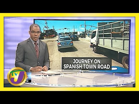 Spanish Town Jamaica Road Woes   TVJ News - June 9 2021