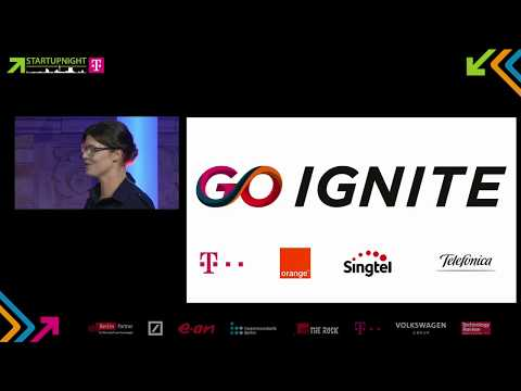 Go Ignite Global Call Winners Announcement at Startupnight 2017