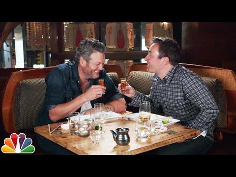 Jimmy Fallon Makes Blake Shelton Try Sushi