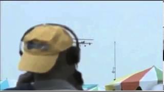Wing walker horror crash at Dayton Air Show