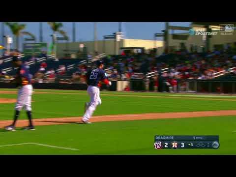 Houston Astros vs Washington Nationals | J.D. Davis Home Run