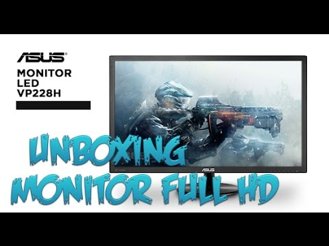 Unboxing Monitor Asus VP228H | Full HD