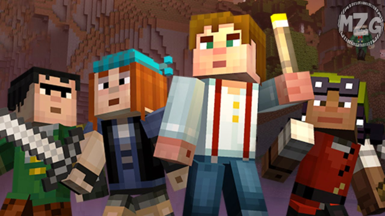 Minecraft Ps4 Ps3 Minecraft Story Mode Skin Pack Youtube