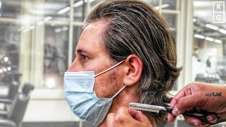 Long Men's Haircut Afтer Growing In 2020 - Long Hair Tutorial