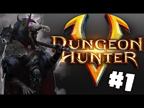 Lets Play - Dungeon Hunter 5 Ep. #1 (Im A Thieft!!)