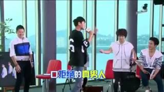 140905 EXO Tao Rapper Funny