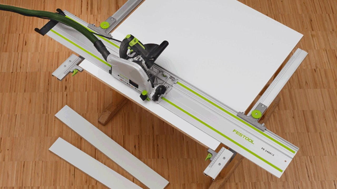 Festool Parallel Guide Rail Extenstion Set Making