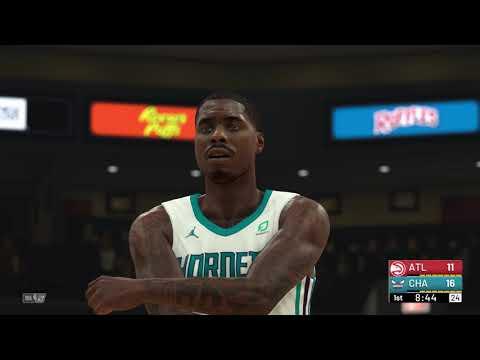 b634afd05deb NBA 2K19 - Atlanta Hawks vs Charlotte Hornets - YouTube