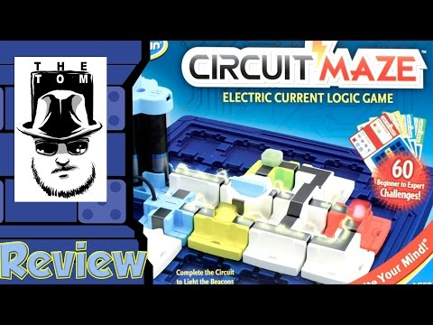 Circuit Maze Review - with Tom Vasel