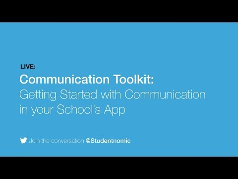 Communication Toolkit: Getting Started