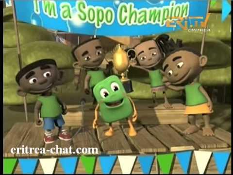 ኤርትራ Eritrean Cartoon Child Movie - Importance of Washing Hands - HQ