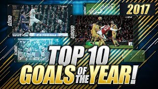 TOP 10 GOALS OF THE YEAR!!