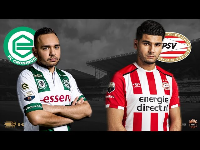 FC Groningen - PSV | Speelronde 33 | E-Divisie