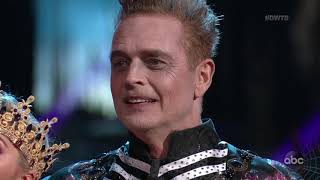 "HD John Schneider and Emma ""Paso Doble"" - DWTS Week 6: Halloween Night 