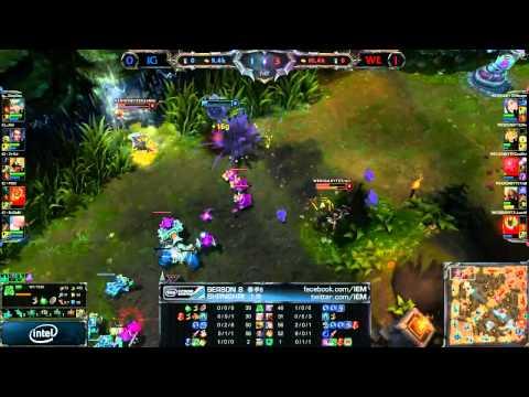 IEM Season 8 Shanghai Final: Team WE vs Invictus Gaming Game 2 (26.07.2013)
