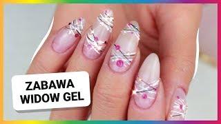 WIDOW GEL - delikatne błyszczące paznokcie