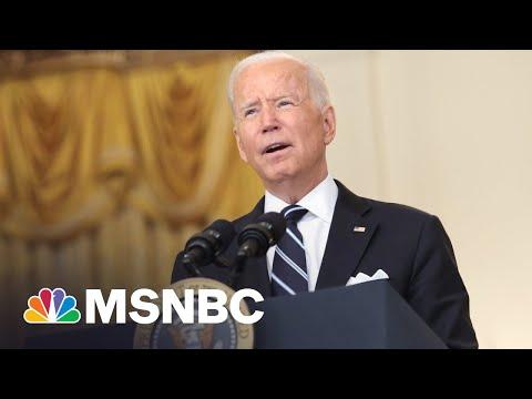 Defiant Biden Takes On GOP Governors Banning Mask Mandates