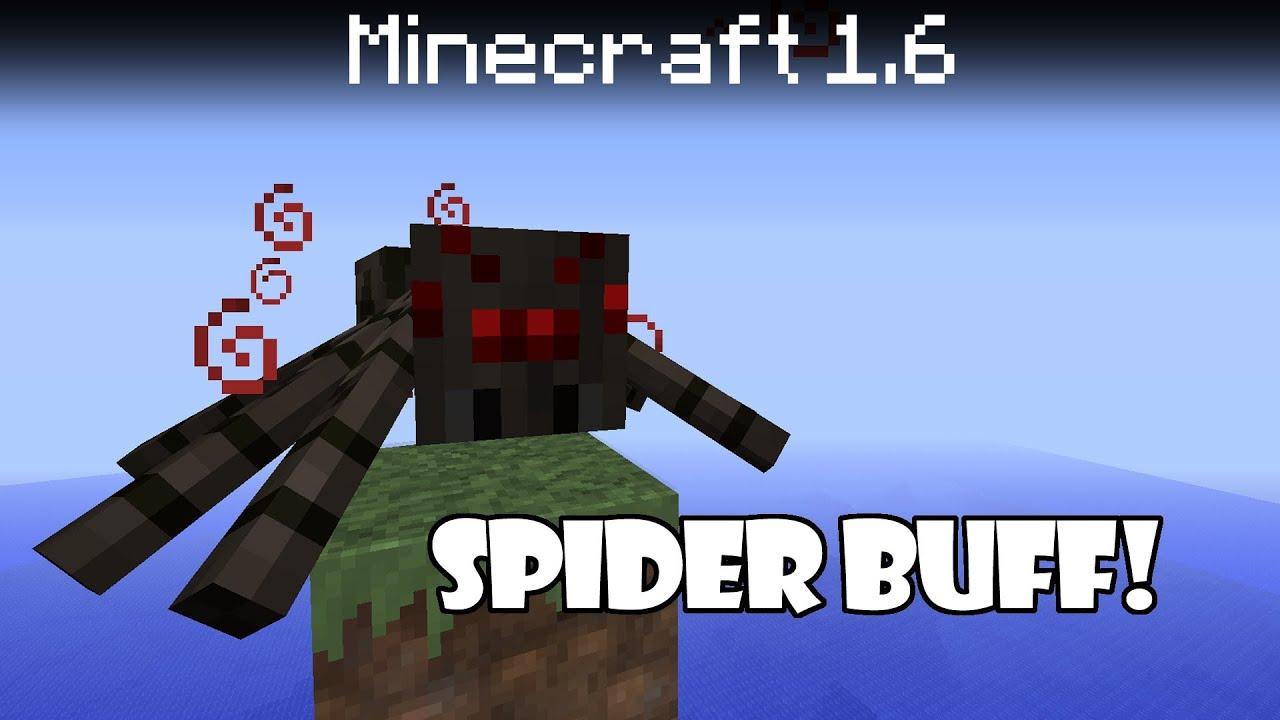 Minecraft 12.12 update - Spider Buff, Zombie Reinforcements