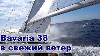 Пробуем Bavaria 38 в свежий ветер Жизнь на яхте Cupiditas